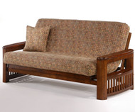 Shadow Futon Sofa Black Walnut | Night and Day Furniture | ND-Shadow-BW