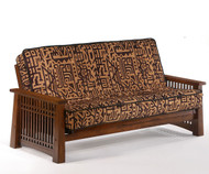 Solstice Futon Sofa Black Walnut | Night and Day Furniture | ND-Solstice-BW