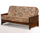 Sunrise Futon Sofa Black Walnut | Night and Day Furniture | ND-Sunrise-BW