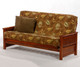 Sunrise Futon Sofa Cherry | Night and Day Furniture | ND-Sunrise-CH