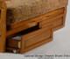Sunrise Futon Sofa Medium Oak | 26796 | ND-Sunrise-MO