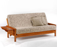 Winston Futon Sofa Honey Oak | Night and Day Furniture | ND-Winston-HO