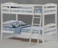 Sesame Bunk Bed White 1 | Night & Day Furniture | NDSES-W-CL