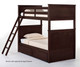 School House Casey Bunk Bed Chocolate | NE Kids | NE-5020BUNK