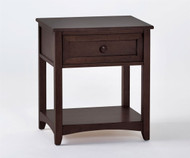 School House Nightstand Chocolate | NE Kids Furniture | NE-5530