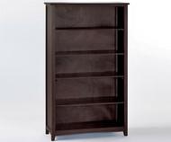 School House Tall Bookcase Chocolate | NE Kids Furniture | NE-5560