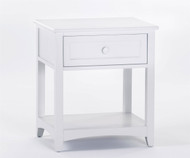 School House Nightstand White | NE Kids Furniture | NE-7530