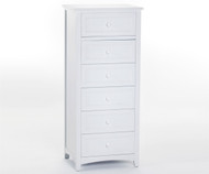 School House Lingerie Chest White | NE Kids Furniture | NE-7535