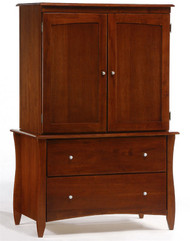 Timber Creek Armoire Cherry | Night & Day Furniture | NE-CLOVE-AM-CR