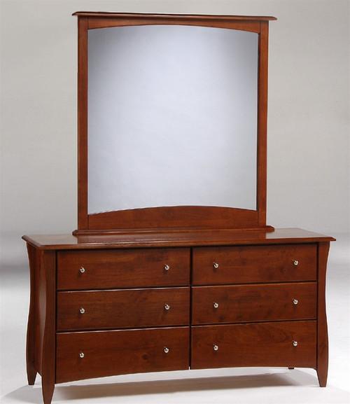 Timber Creek Double Dresser Cherry | Night & Day Furniture | NE-CLOVE-DD-CR