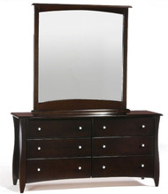 Timber Creek Double Dresser Chocolate | Night & Day Furniture | NE-CLOVE-DD-CT