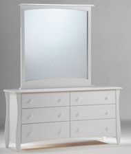 Timber Creek Double Dresser White | Night & Day Furniture | NE-CLOVE-DD-WH