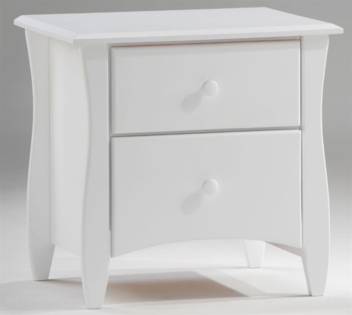 spices collection night and day furniture Clove White nightstand ...