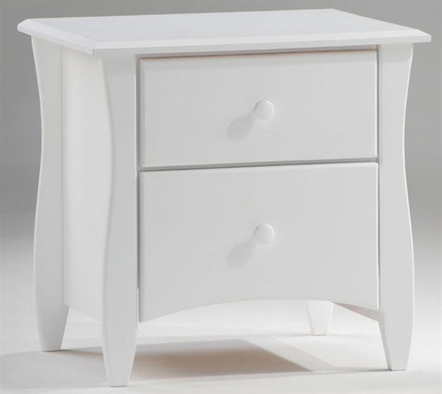 Timber Creek Nightstand White | Night & Day Furniture | NE-CLOVE-NS-WH