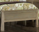 Everglades Bailey Upholstered Bed Twin Size Driftwood | 26931 | NE10010