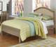 Everglades Bailey Upholstered Bed Full Size Driftwood   NE Kids Furniture   NE10015