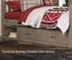 Everglades Bookcase Bed Full Size Driftwood   26944   NE10065