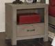 Everglades Bookcase Bed Full Size Driftwood   NE Kids Furniture   NE10065