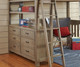 Everglades Loft Bed Full Size with Full Size Lower Bed Driftwood | 26951 | NE10080-LWB