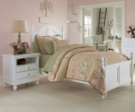 Lakehouse Payton Twin Bed White | NE Kids | NE1010