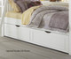 Lakehouse Adrian Bunk Bed Twin Over Twin White | 26962 | NE1031