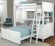 Lakehouse Loft Bed Twin White | NE Kids | NE1040