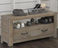 Everglades Dressing Bench Driftwood | NE Kids Furniture | NE10570