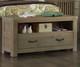 Everglades Dressing Bench Driftwood | NE Kids Furniture | NE10570