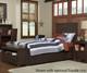 Everglades Alex Panel Bed Twin Size Espresso   26988   NE11020