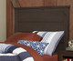 Everglades Alex Panel Bed Twin Size with Trundle Espresso   26989   NE11020X