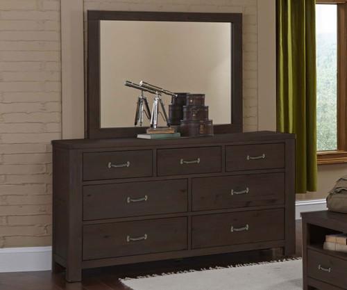 Everglades 7 Drawer Dresser Espresso | NE Kids Furniture | NE11500