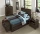 Everglades 5 Drawer Chest Espresso   NE Kids Furniture   NE11520