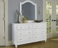 Lakehouse 8 Drawer Dresser White | NE Kids Furniture | NE1500