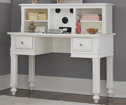 Lakehouse Writing Desk White   NE Kids Furniture   NE1540
