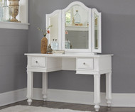 Lakehouse Vanity Desk White | NE Kids Furniture | NE1540-1560