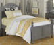 Lakehouse Payton Twin Bed Stone | NE Kids | NE2010