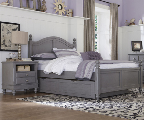 Lakehouse Payton Full Bed with Trundle Stone | NE Kids | NE2015-2570