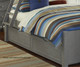 Lakehouse Adrian Bunk Bed Twin Over Full Stone | 27037 | NE2035
