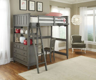 Lakehouse Loft Bed Twin Stone | NE Kids | NE2040