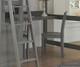 Lakehouse Loft Bed with Desk Full Size Stone | 27042 | NE2045-Desk