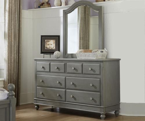 Lakehouse 8 Drawer Dresser Stone | NE Kids Furniture | NE2500
