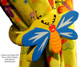 Pastel Peach Lolli Flower Drawer Pull | One World | OW-DP45561