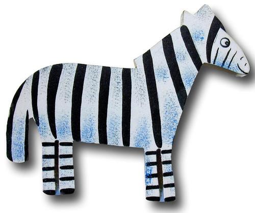 Zebra Drawer Pull   One World   OW-DP555