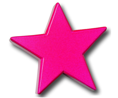 Magenta Star Drawer Pull | One World | OW-DP602