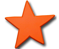 Orange Star Drawer Pull | One World | OW-DP606