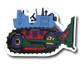Big Wheel Cat Drawer Pull | One World | OW-DP625