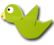 Chix Parakeet Drawer Pull | One World | OW-DP633