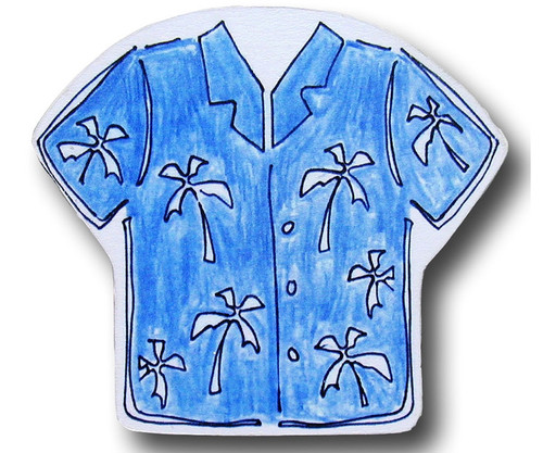Maui Wowie Shirt Drawer Pull   One World   OW-DP637