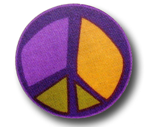 Drawer Pull Purple Peace 3 | One World | OW-DP703