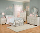 Spring Rose Metal Bed Twin Size | 27360 | ST-5028380